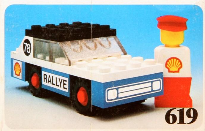 Lego 619 Rally Car image