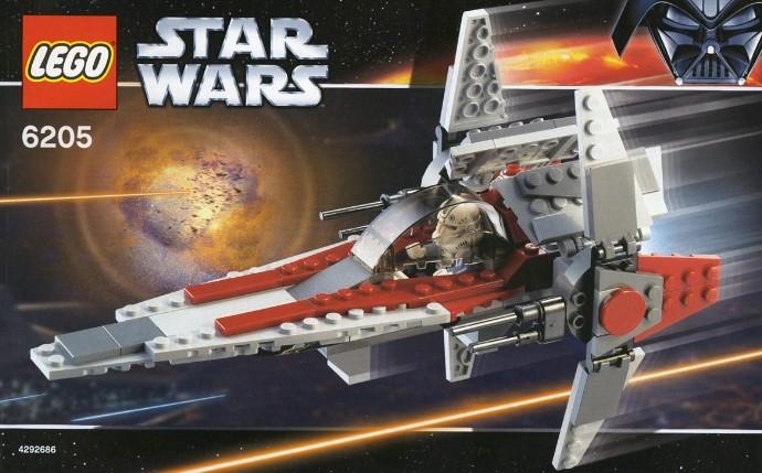 6205 1 V Wing Fighter Brickset Lego Set Guide And Database
