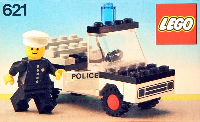 Изображение набора Лего 621 Police Car
