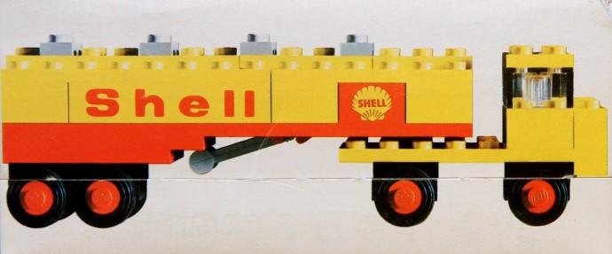 Lego 621 Shell Tanker Truck image