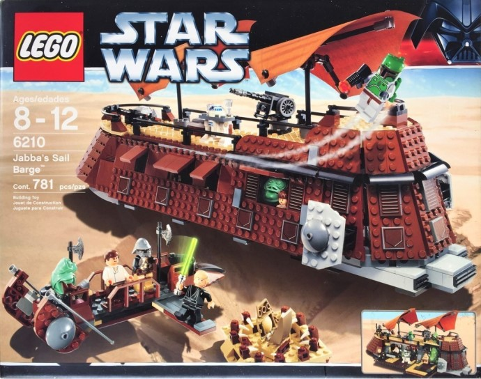 Random set of the day: Jabba's Sail Barge