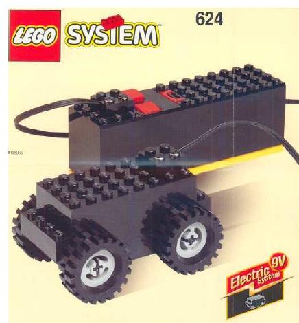 Lego 624 Basic Motor, 9V image
