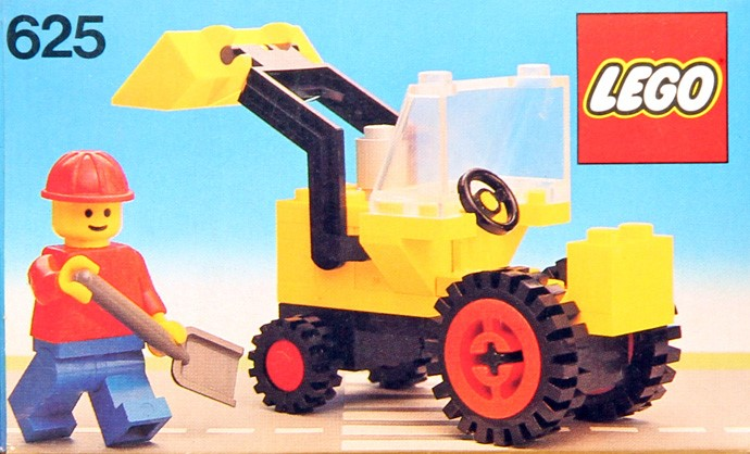 Изображение набора Лего 625 Tractor Digger