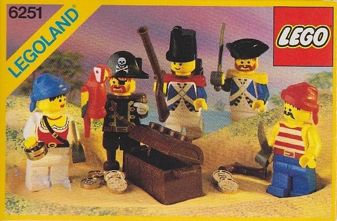 Изображение набора Лего 6251 Pirate Minifigures