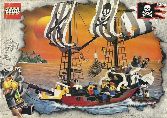 Pirates Tagged Galleon Brickset Lego Set Guide And Database