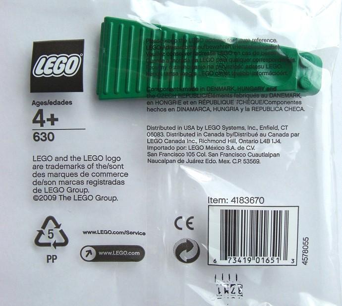 Изображение набора Лего 630 Brick Separator, Green