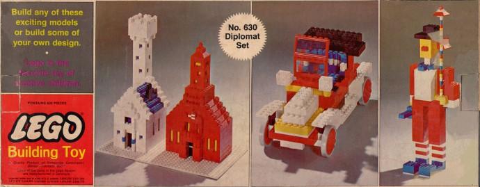 Lego 630 Diplomat Set image