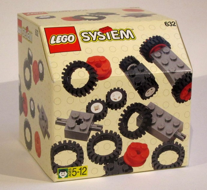 Lego 632 Wheels and Tyres image