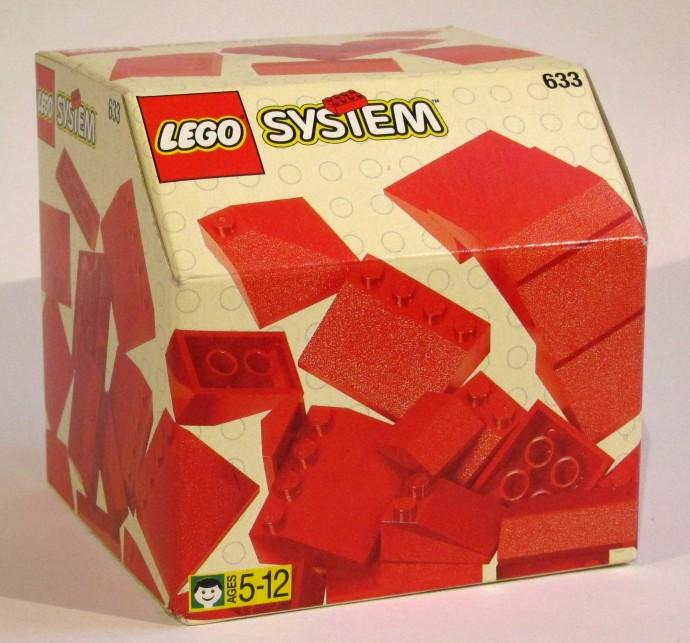 Изображение набора Лего 633 Roof Tiles
