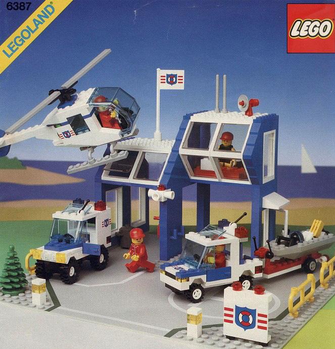 Town Coastguard Brickset Lego Set Guide And Database