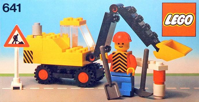 Изображение набора Лего 641 Excavator