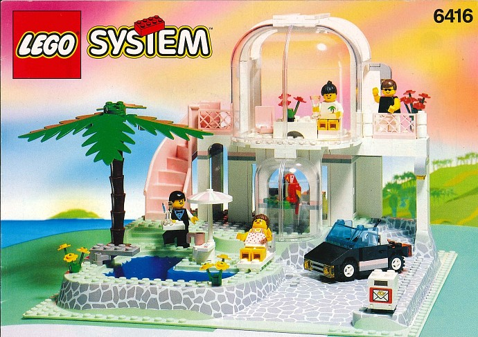 Town paradisa brickset lego set guide and database for Classic house 1992