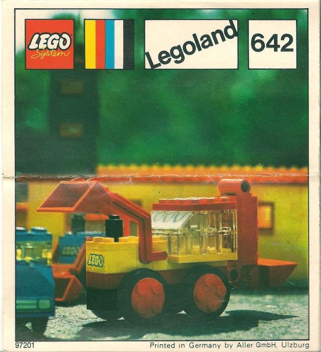 Lego 642 Double Excavator image