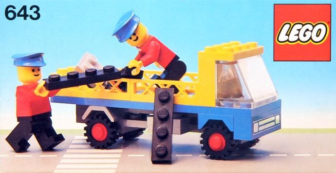Lego 643 Flatbed Truck image