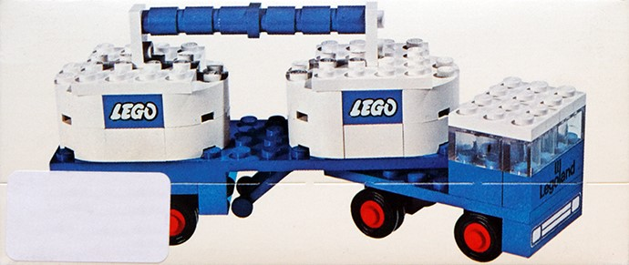 Lego 644 Double Tanker image