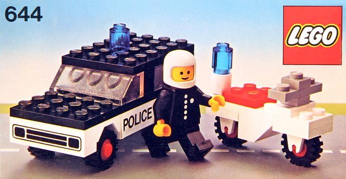 Lego 644 Police Mobile Patrol image
