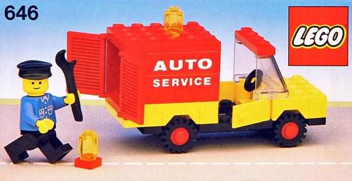 Изображение набора Лего 646 Auto Service