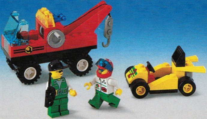 Tow N Go >> Town Tagged Tow Truck Brickset Lego Set Guide And