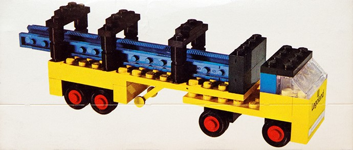 Lego 647 Lorry With Girders image