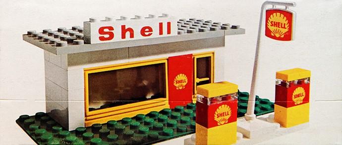 Изображение набора Лего 648 Service Station