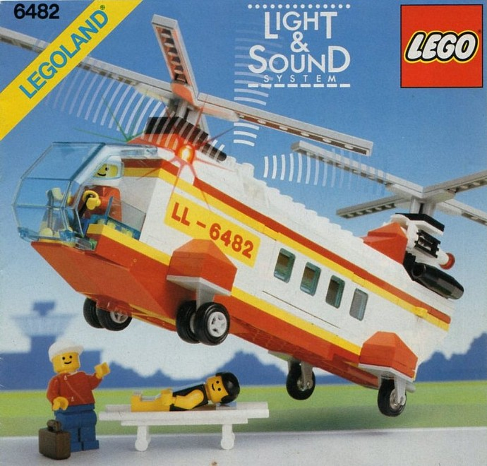 6482 1 Rescue Helicopter Brickset Lego Set Guide And