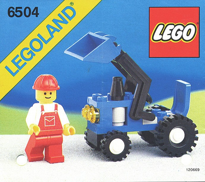 6504 1 Tractor Brickset Lego Set Guide And Database