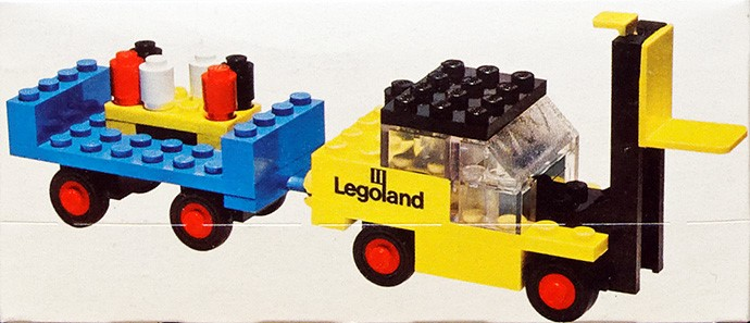 Lego 652 Forklift with Trailer image