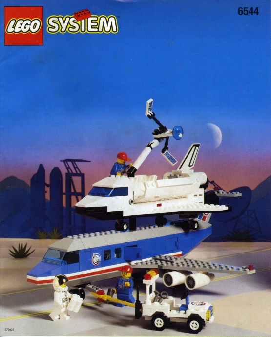 lego space shuttle and plane - photo #10