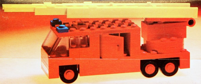 Lego 658 Fire Engine image