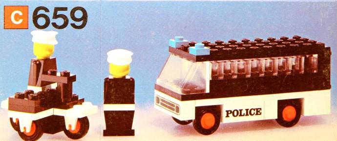 Lego 659 Police Patrol image