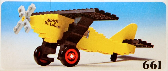 Lego 661 Spirit of St. Louis image
