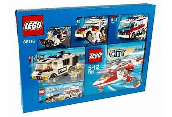 Lego 66116 City Emergency Service Vehicles (Multipack) image