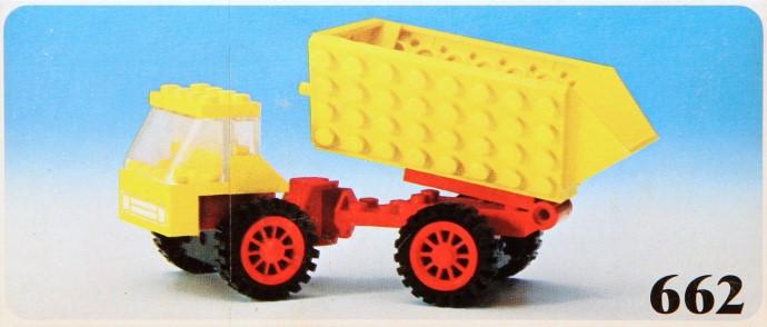 Изображение набора Лего 662 Dump Truck