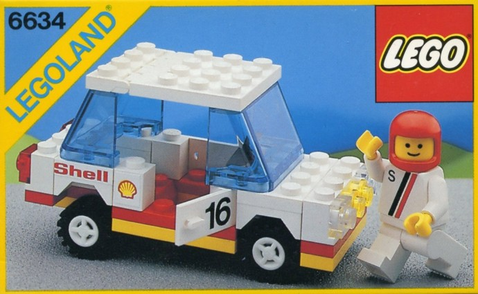 6634 1 Stock Car Brickset Lego Set Guide And Database