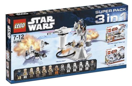 66364-1: star wars super pack 3 in 1 | brickset: lego set guide