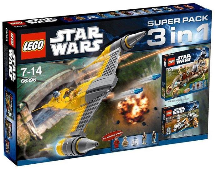 66396-1: star wars super pack 3 in 1 | brickset: lego set guide