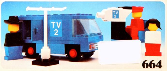 Изображение набора Лего 664 TV Crew