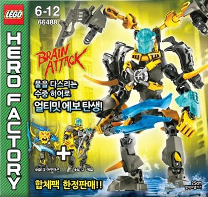 Hero Factory Tagged Brain Attack Brickset Lego Set Guide And