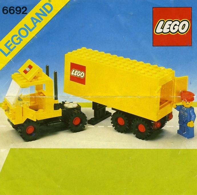 Lego Tractor Trailer : Lego tractor trailer