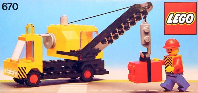 Lego 670 Mobile Crane image