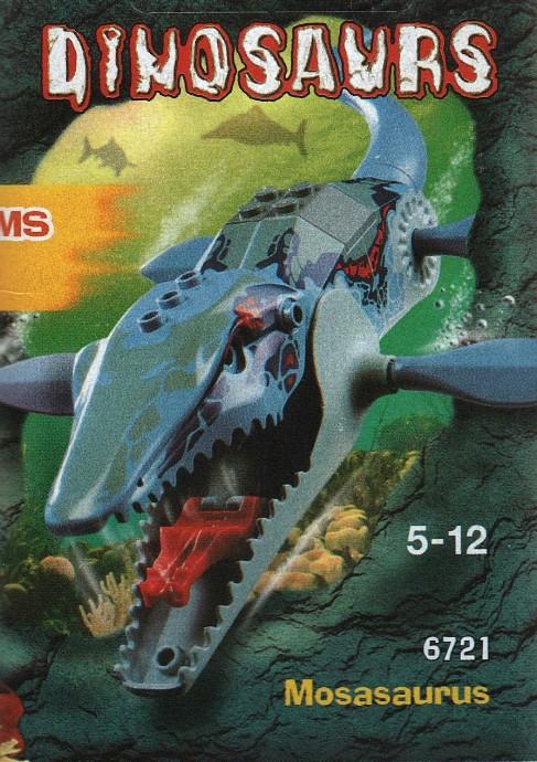 mosasaurus légo