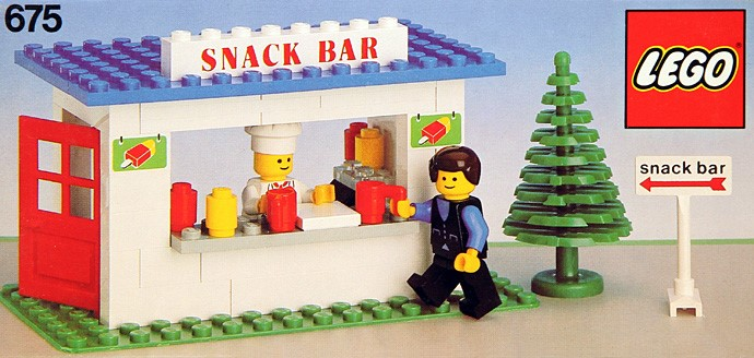675 1 Snack Bar Brickset Lego Set Guide And Database