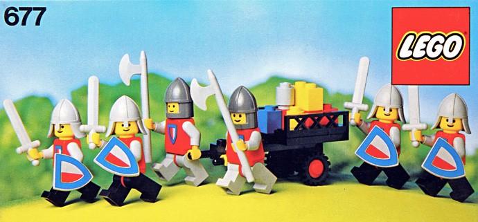 Изображение набора Лего 677 Knight's Procession