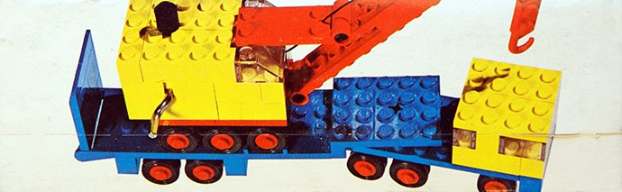 Lego 680 Low-Loader with Crane image