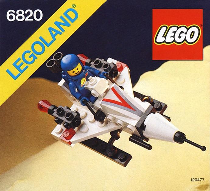 LEGO VINTAGE SPACE SET STARFIRE 1   6820-1