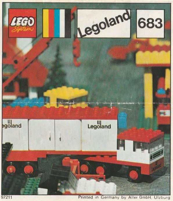 Изображение набора Лего 683 Articulated Lorry