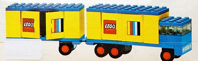 Lego 685 Legoland Truck with Trailer image