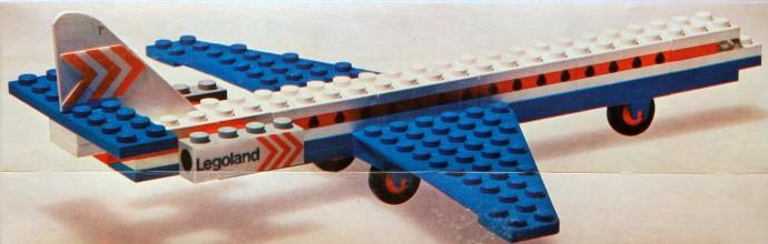 Изображение набора Лего 687 Caravelle Aeroplane