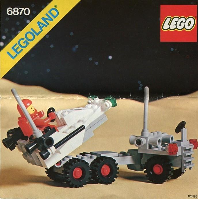 Изображение набора Лего 6870 Space Probe Launcher