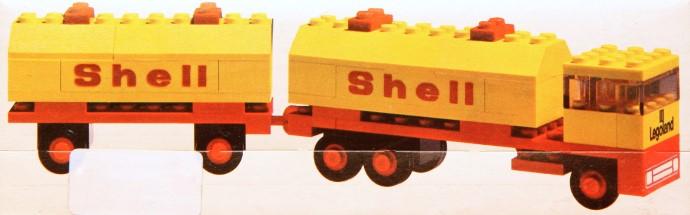 Lego 688 Shell Tanker image